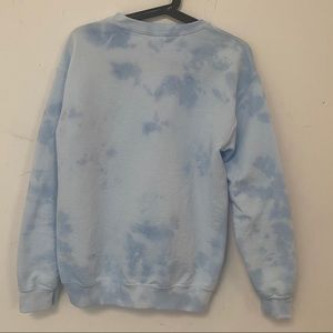 Sweaters - Blue tie dye custom Crewneck sweatshirt